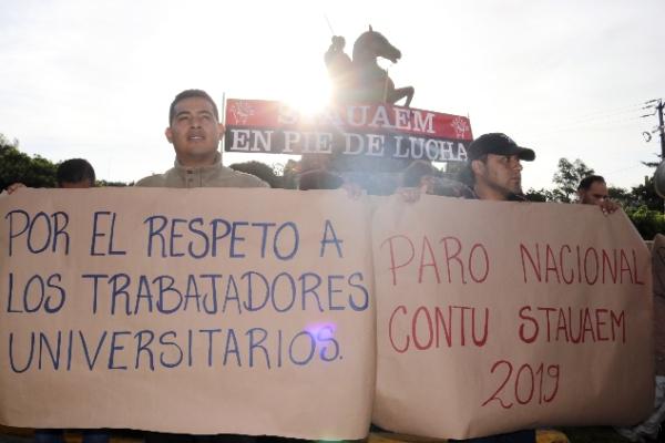 Las universidades de Nayarit, Zacatecas, Morelos, Tabasco, Oaxaca, Michoacán,  Estado de México, Sinaloa y Chiapas, se fueron a paro. FOTO: MARGARITO PÉREZ RETANA