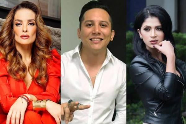 Actualmente Edwin Luna está casado con Kimberly Flores con quien tiene una hija llamada Giana.