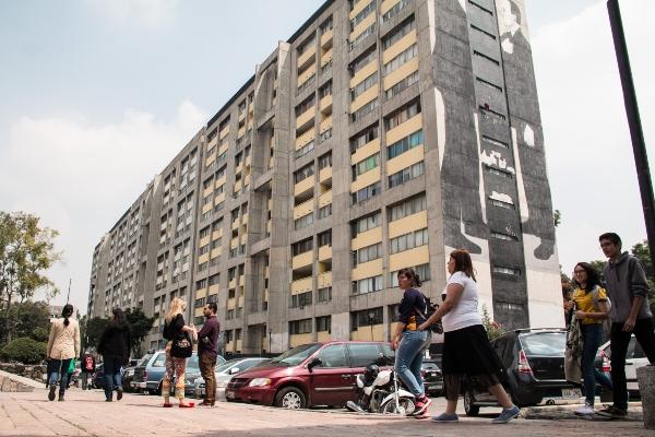 La Unidad Habitacional Nonoalco Tlatelolco. Foto: Cuartoscuro