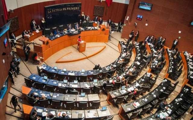 Pleno del Senado de la República. Foto: Cuartoscuro
