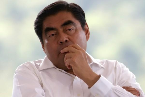 Miguel Barbosa Huerta, gobernador de Puebla. Foto: Cuartoscuro