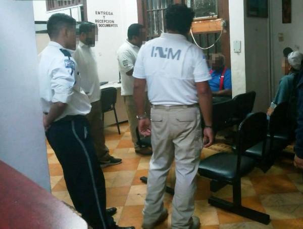 """El imputado se identificó como Joseph """"N"""", originario de Guatemala. Foto: Especial"""
