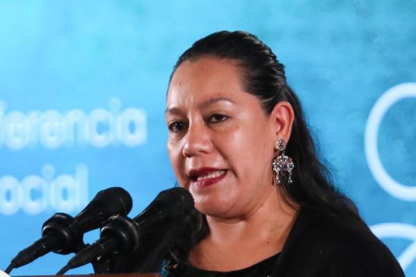 María Luisa Albores González, secretaria de Bienestar y nueva presidenta de la Conferencia Regional sobre Desarrollo Social de América y el Caribe. Foto: Cuartoscuro
