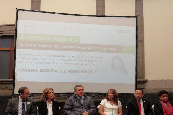 caso marti disculpa publica gcdmx lorena gonzalez
