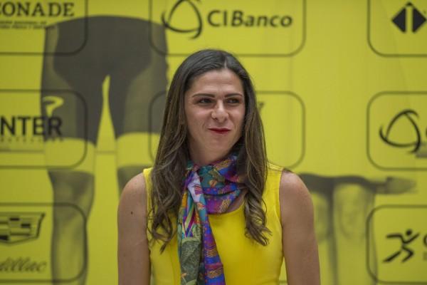 Ana Gabriela Guevara, titular de la Conade. Mexsport.