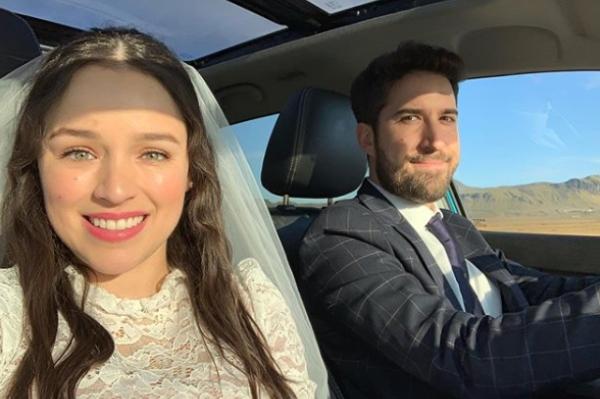 Alex Fernández se casó. Foto: Especial