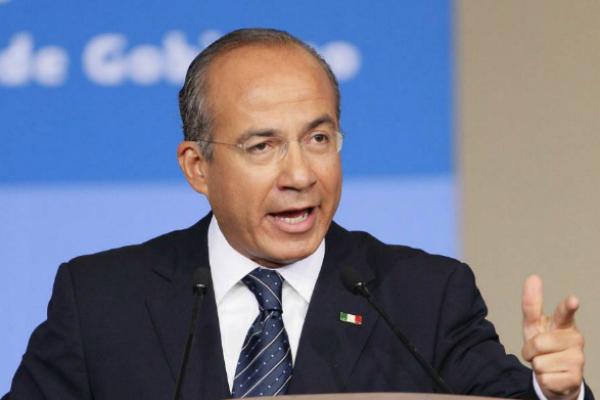 Felipe Calderón, expresidente de México. Foto: Especial.