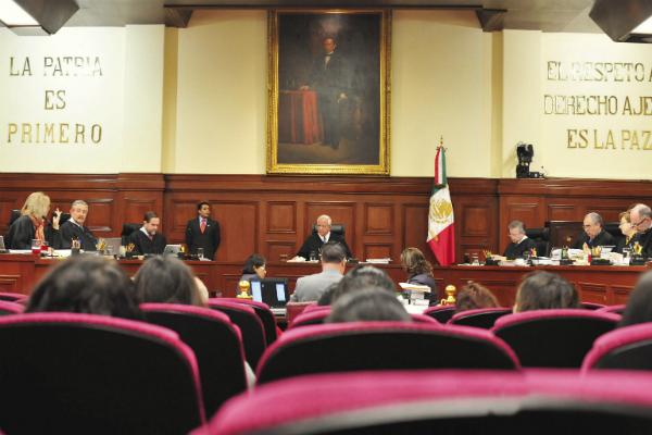 El pleno de la SCJN validó una disposición del Código Penal del Estado de Guanajuato. Foto: Especial.