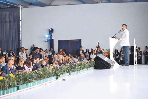 PAZ. Jaime Rodríguez aseguró que no está preocupado por lo que haga el Congreso local. Foto: Especial.