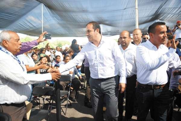 ACUERDOS. El gobernador convocó a la unidad para lograr el bienestar en el estado. Foto: Especial.
