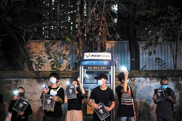 ENOJO. Protesta contra el retiro de una aplicación. Foto: AP
