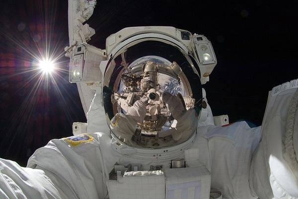 Astronauta NASA. Imagen: Pixelbay