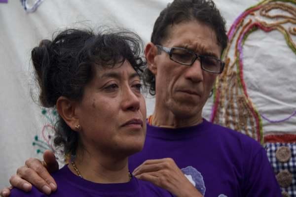 Araceli Osorio, mamá de Lesvy. Foto: Cuartoscuro.