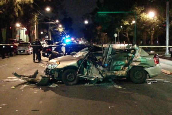 ¡Otra vez un BMW! Accidente en San Juan de Aragón deja un muerto: VIDEO