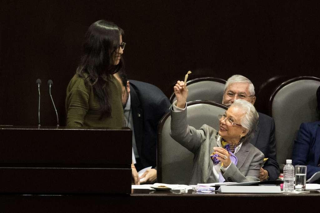 Después de que Olga Sánchez Cordero, secretaria de Gobernación, recibiera un