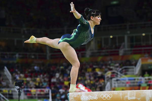 Alexa Moreno finaliza en sexto sitio en Mundial de Gimnasia