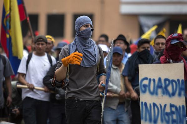 El país sudamericano implementó toque de queda. Foto: Notimex.