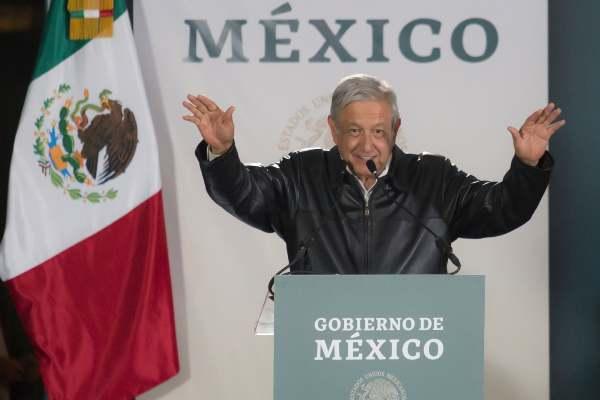 Con la visita a San Quintín, el presidente lleva recorridos 77 de los 80 hospitales del modelo IMSS-Bienestar. Foto: Cuartoscuro