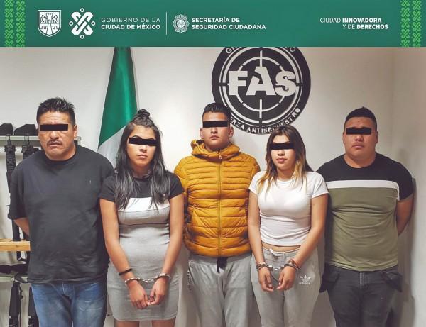 INTELIGENCIA. La organización se compone de seis integrantes, y ayer fueron capturados cinco. Foto: Especial