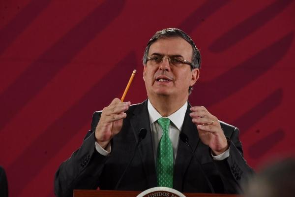 Marcelo Ebrard Casaubón, titular de la Secretaría de Relaciones Exteriores. Foto: Pablo Salazar