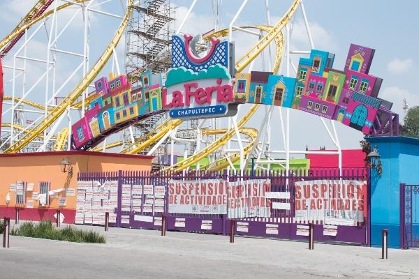 Luego de las fallas mecánicas en donde la Feria de Chapultepec está cerrada. Foto: Cuartoscuro