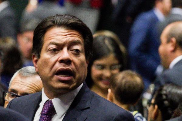 Mario Delgado, diputado de Morena. Foto: Cuartoscuro