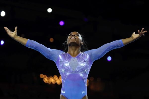 Simone Biles ganó la medalla número 24 de su carrera