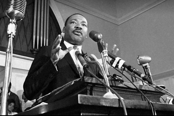 Martin Luther King luchó por la discriminación