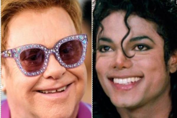 Elton John y Michael Jackson. Especial