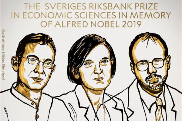 El premio Nobel de Economía de 2019. Foto: @NobelPrize