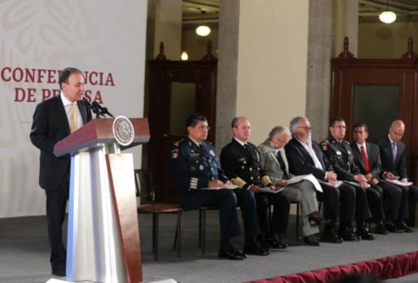 Alfonso Durazo Montaño, secretario de Seguridad y Protección Ciudadana. Foto: Presidencia