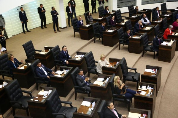 Sesión ordinaria en Congreso de Tamaulipas. Foto: Especial