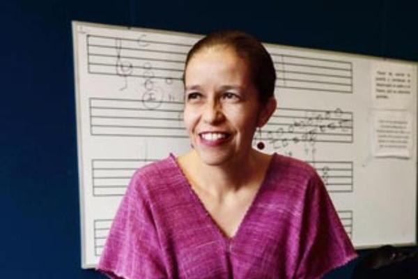 La pianista Edith Ruiz Zepeda. Foto: UNAM
