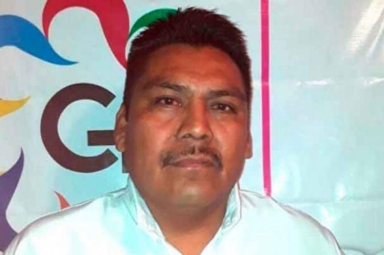 Arnulfo Cerón Soriano, líder social y activista desaparecido desde la noche del viernes. Foto: Notimex