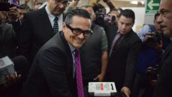 Jorge Winckler Ortiz, fiscal general suspendido en Veracruz. Foto: Cuartoscuro