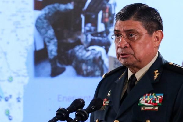 Luis Cresencio Sandoval, secretario de la Defensa Nacional. Foto: Cuartoscuro
