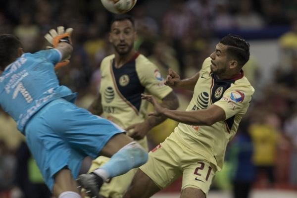 América goleó en el último encuentro a las Chivas. Mexsport