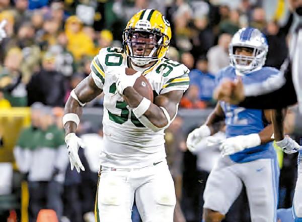 CARDIACO. Los Packers vencieron a los Lions en la última jugada con un gol de campo. Foto: AP
