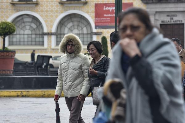 lluvias frio clima mexico 15 octubre