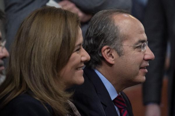 Felipe Calderón y Margarita Zavala. Foto: Cuartoscuro