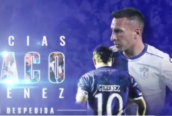 """""""Chaco"""" Giménez dijo adiós a las canchas en el torneo de Apertura 2018. FOTO: Especial"""