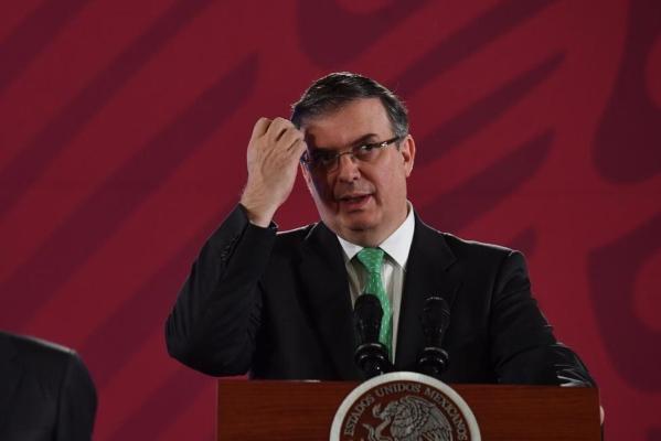 Marcelo Ebrard, titular de la Secretaría de Relaciones Exteriores. Foto: Pablo Salazar Solís