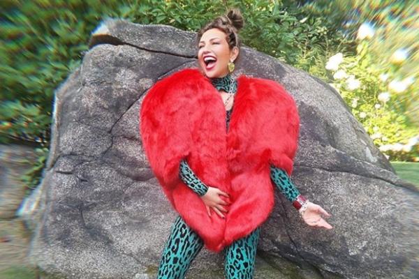 La cantante mexicana, una estrella de las redes sociales. Foto: Instagram
