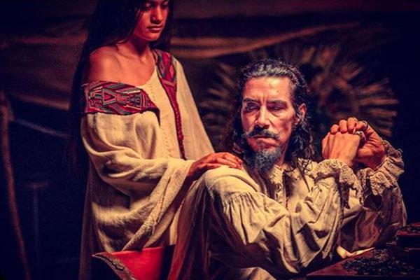 Óscar Jaenada dará vida al personaje de Hernán Cortés en la serie producida por Dopamine. Foto: Especial