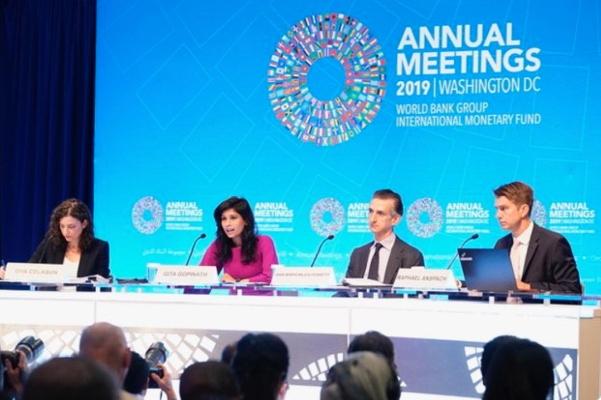Alerta FMI desaceleración mundial y crecimiento mas lento