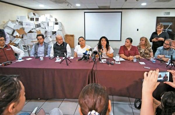 PARTICIPACIÓN l La noche del lunes, los diputados de Baja California dieron a conocer los resultados de la consulta a los ciudadanos. Foto: Cuartoscuro