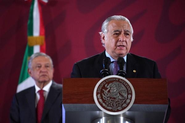Miguel Torruco y López Obrador. Foto: Presidencia