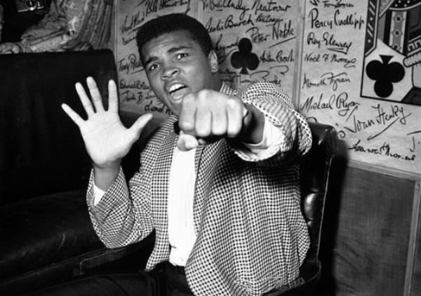 Muhammad Ali, boxeador estadounidense, considerado uno de los mejores de todos los tiempos. Foto: Gettyimages