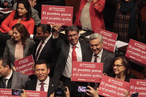 La bancada de Morena impulsó las propuestas. Foto: Cuartoscuro