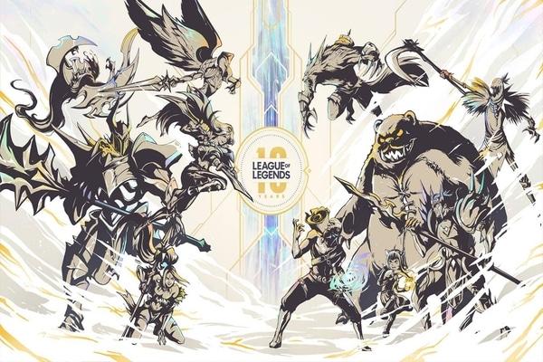 League of Legends celebra 10 años con nuevos lanzamientos.